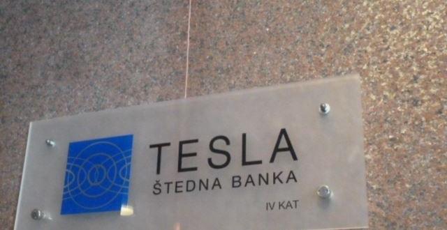 Gasi se Tesla banka