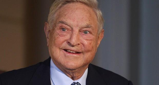 Soros se kladi na pad akcija Deutsche Bank
