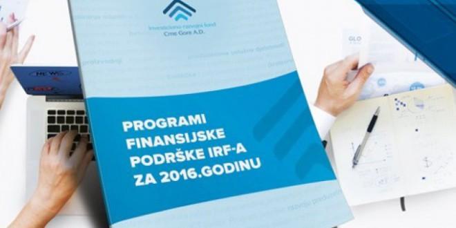 IRF prošle godine plasirao 117,1 miliona eura