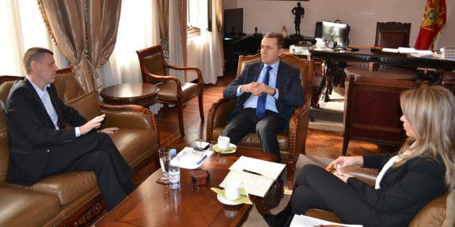 Guverner Žugić primio rukovodstvo Prve banke AD Podgorica