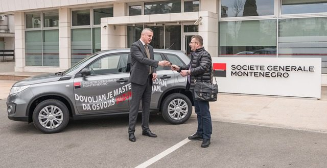 Uručeni ključevi automobila dobitniku u nagradnoj igri Societe Generale banke