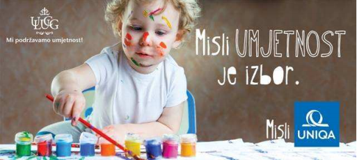 UNIQA generalni sponzor 72. Tradicionalne izložbe Udruženja likovnih umjetnika Crne Gore