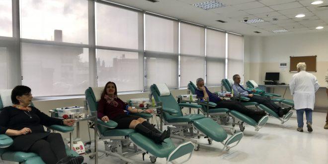 Zaposleni u Sava osiguranju dobrovoljno dali krv