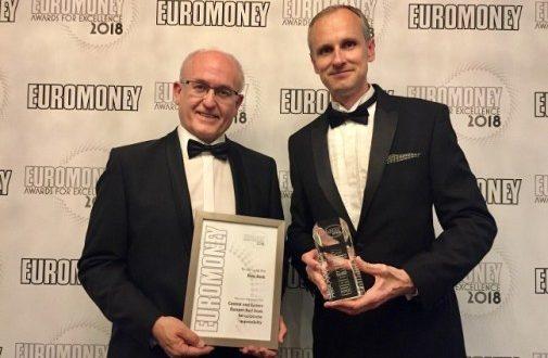 """Erste grupa osvojila Euromoney nagradu """"Najbolja banka CIE za korporativnu odgovornost"""""""