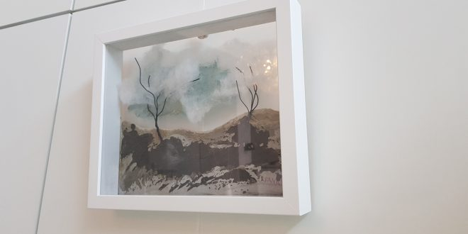 Izložba radova Ivanke Vane Prelević u prostoru za umjetnost Societe Generale banke