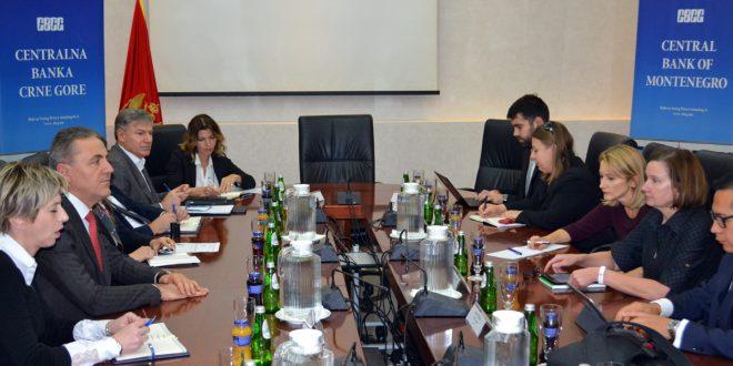 Održan sastanak predstavnika CBCG i Svjetske banke