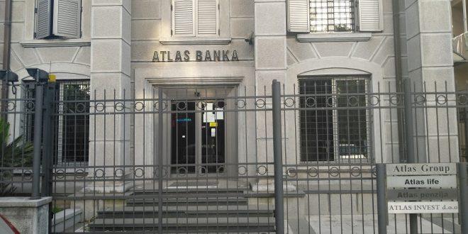 Dugovi Atlas banke 133 miliona eura