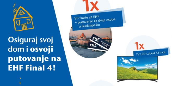UNIQA i TehnoPlus vas vode na finale najprestižnijeg rukometnog takmičenja – EHF Final 4