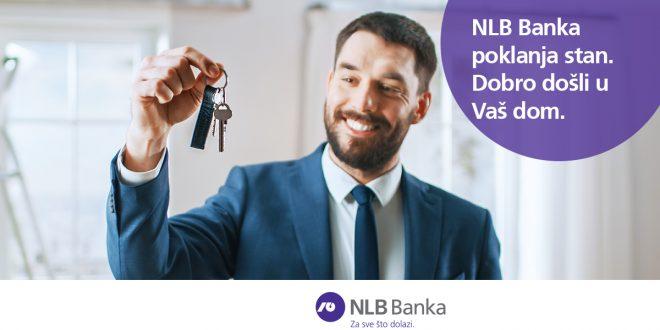 NLB Banka poklanja stan – izvlačenje dobitnika 10. aprila u 18:20 časova