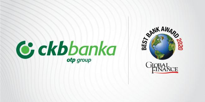 Global Finance: CKB je najbolja banka u Crnoj Gori i u 2020. godini
