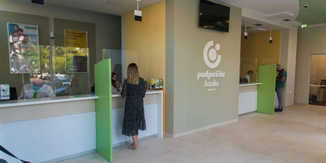 Otvorena renovirana ekspozitura Podgoričke banke u Moskovskoj ulici u Podgorici