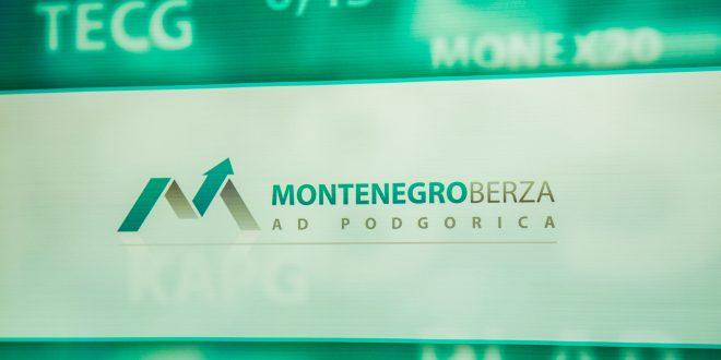 Promet na Montenegroberzi u aprilu iznosio 527 hiljada eura