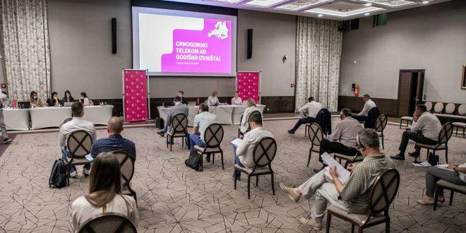 Održana redovna godišnja Skupština akcionara Crnogorskog Telekoma